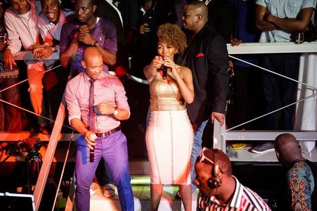 5 Pics: Davido, Mafikizolo, Kcee,Sound Sultan @Tchelete video launch