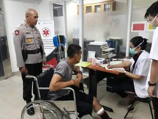 Polda Metro Jaya Selidiki Pembacokan Anggota Polisi saat Bubarkan Tawuran di Cengkareng