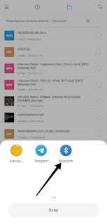 Cara Mengirim Aplikasi Lewat Bluetooth Ke Laptop