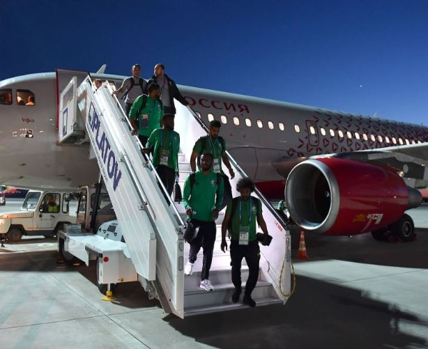 #WorldCup: Saudi Arabia players land safely at Rostov after plane caught fire in midair