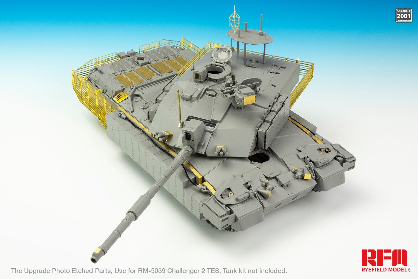 Rye Field Model RM5039 1//35 scale CHALLENGER 2 TES BRITISH MAIN BATTLE TANK