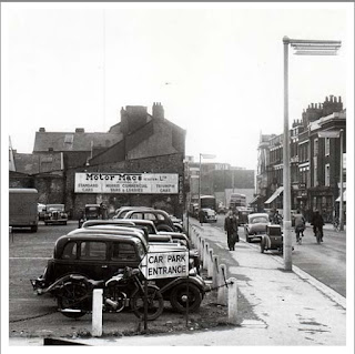 MotorMacs in Sidwell Street, Exeter in 1955