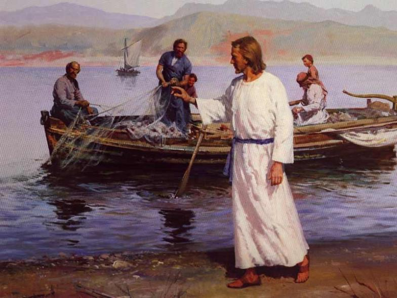 "Image result for 19 ""Come, follow me,"" Jesus said, ""and I will send you out to fish for people."""
