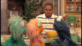 Sesame Street Episode 4305 Me Am What Me Am, chris, rosita, zoe, cookie monster