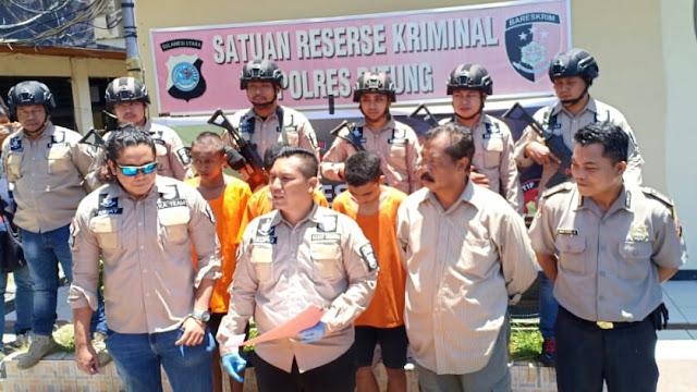 Jempol untuk Kasat Reskrim Polres Bitung  9 hari besut Team Tarsius , 7 Kasus  Terbongkar