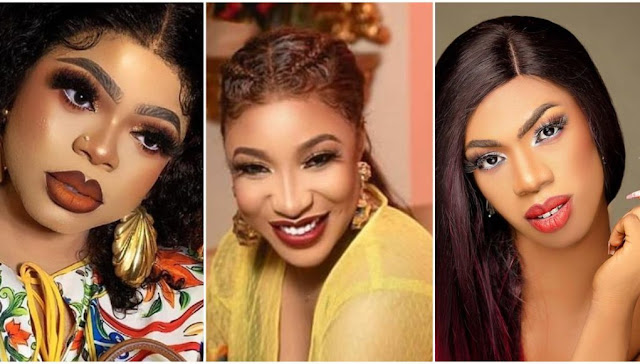 Bob will come for you – Fans reacts as Tonto Dikeh dumps Bobrisky as her new Friendship starts with James Brown