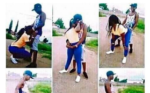 LOL! Couple Releases Crazily S*xy Pre-Wedding Pictures