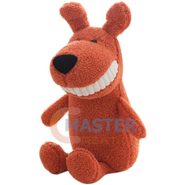 stuffed plush dog
