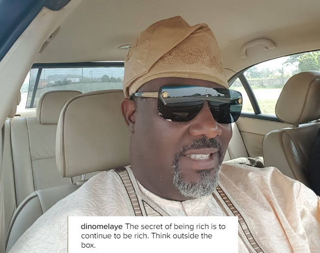 I was once a street hawker - Dino Melaye says as he buys groundnut roadside