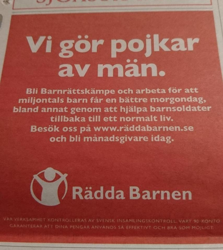 """Motpol 对立: När man bara får nog - """"Minderåriga som kommer som asylsökande till Sverige kan alltså inkassera pengar från svenska skattebetalare bara genom att påstå att en eller båda föräldrarna är döda."""""""