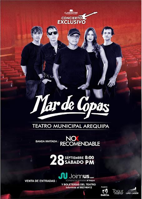 Mar de Copas en Arequipa 2019