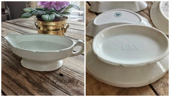 DIY beautify ironstone