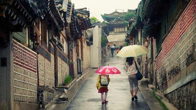 Curah Hujan di Korea