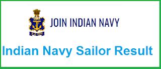 Indian Navy Sailor Result 2019