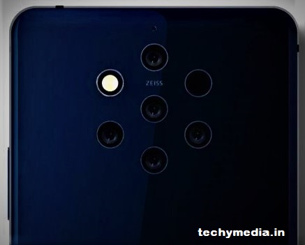 Nokia 9 Five Camera Smartphone to be Launch Soon