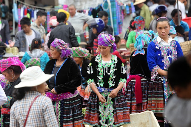 Unique hill tribe markets in northern Vietnam 3