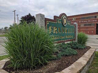 Town of Franklin: Fiscal 2020 first quarter Real Estate and Personal Property