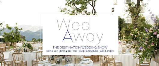 Come and see us this Friday and Saturday at the WedAway Show in London