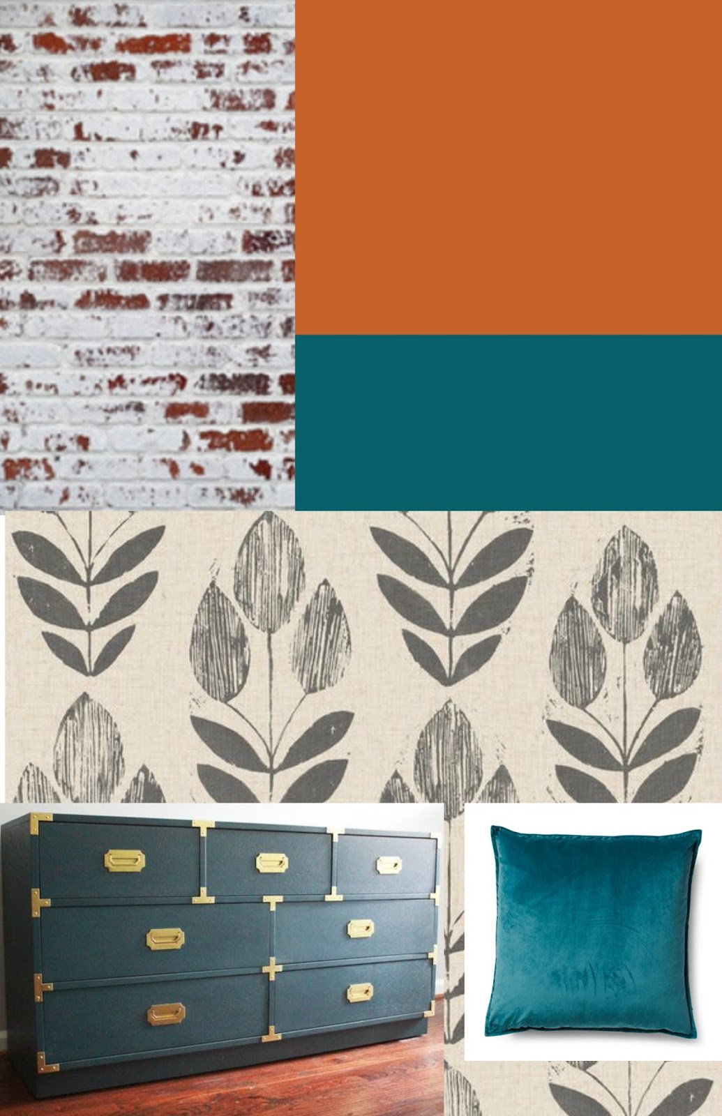 living room makeover mood board