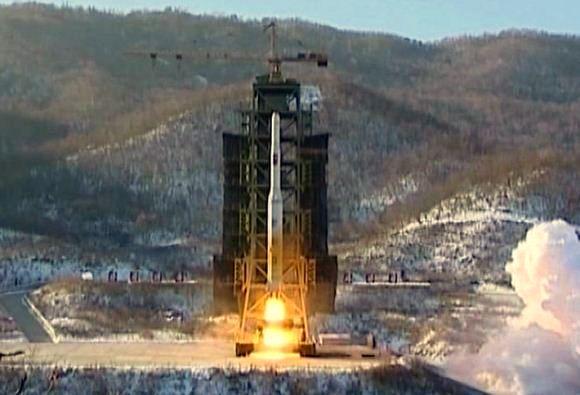 Rudal Unha Korea Utara