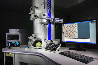 The JEOL 2100+ Transmitting Electron Microscope (TEM) at the Nanoscale and Microscale Research Centre (nmRC), University of Nottingham.