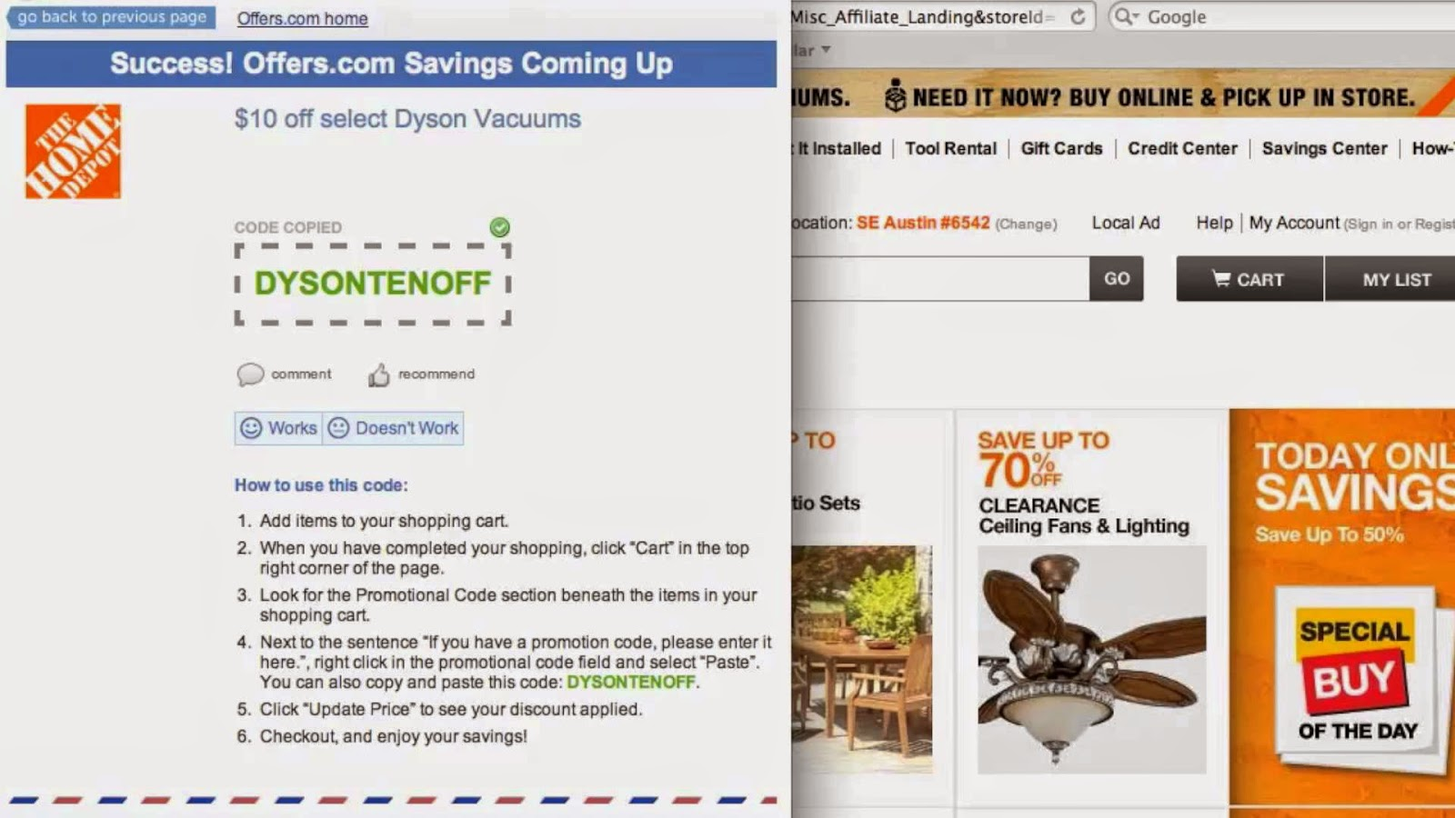 home depot 10 percent off moving coupon