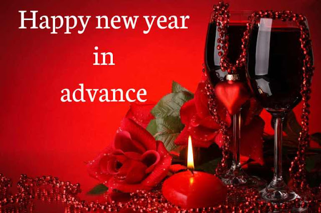 Advance Happy New Year Wishes Messages 2018