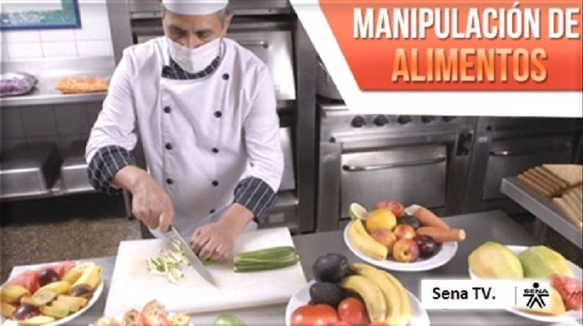 Aprender manipulación de alimentos - Sena