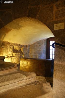 Interno del castello dove è ospitato il Museo della città