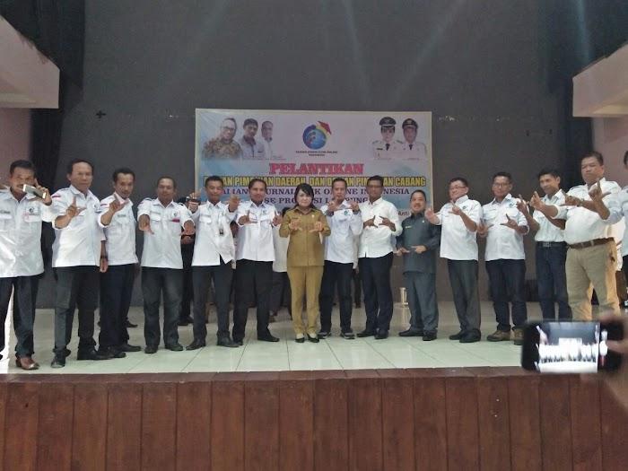 Kepengurusan AJOI Lampung Resmi Di Lantik