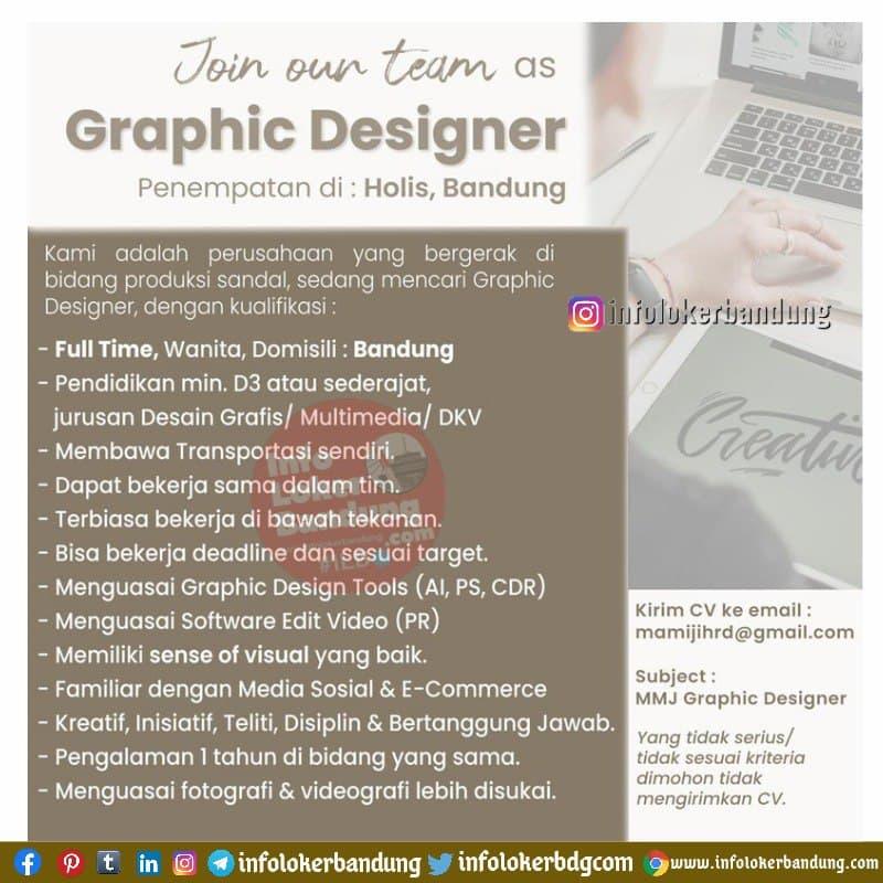 Lowongan Kerja Graphic Designer Mamiji Bandung April 2021