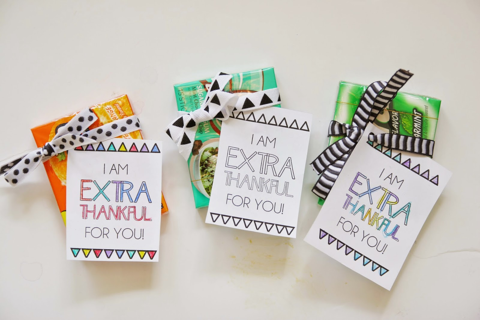 I am extra thankful for you free printable