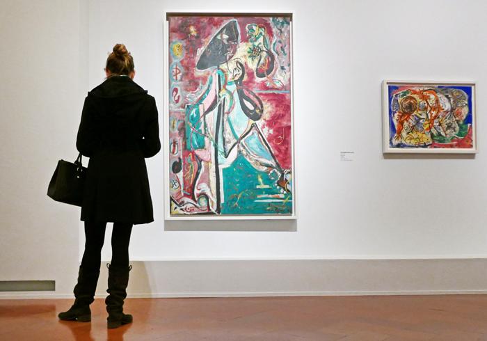 photo de l'exposition De kandinsky à Pollock qui se tient à Florence