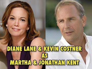 Diane Lane and Kevin Costner in Man of Steel