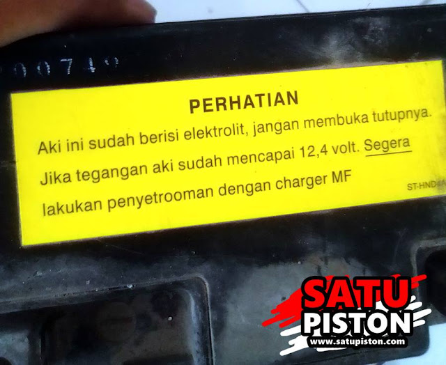 Unboxing dan Review Pembelian Aki Kering Murah Yuasa YTZ4V, Apa Saja Yang Didapat ???