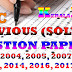 KERALA PSC LOWER DIVISION CLERK PREVIOUS (SOLVED) QUESTION PAPERS (VARIOUS) PDF FREE DOWNLOAD