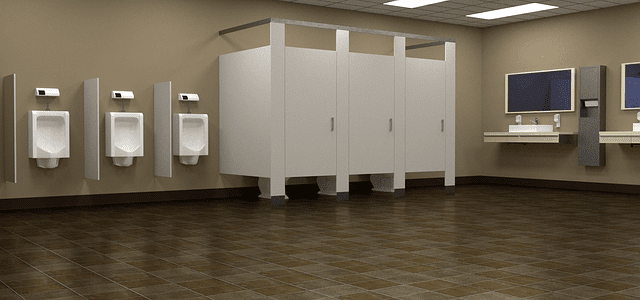 Why Doors in Public Toilets Don't Reach the Floor