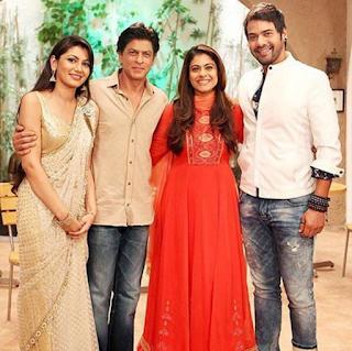 Foto Shabir Ahluwalia dengan Shah Rukh Khan di Salah Satu Episode Lonceng Cinta