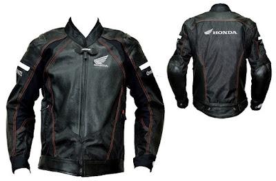 Model Jaket Kulit Honda Body protector