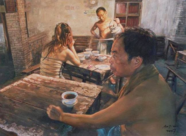 Chinese Oil Paintings By Chen Anjian