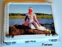 Kakku omalla kuvalla