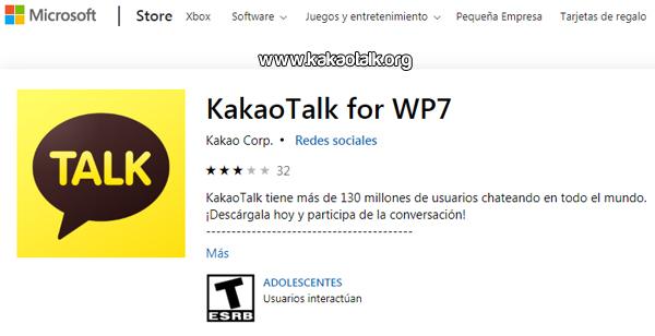KakaoTalk para Windows Phone