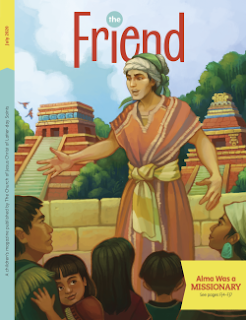 Cover of the July 2020 issue of The Friend magazine