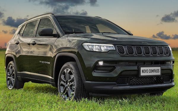 Jeep Compass 2022: 1000 unidades da série 80 anos vendidas em 2 dias