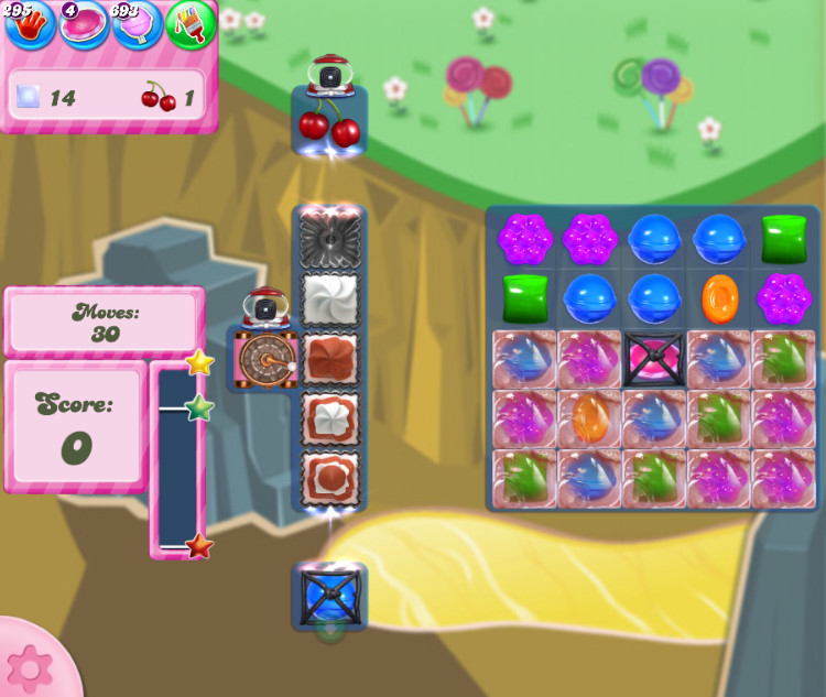 Candy Crush Saga level 2849