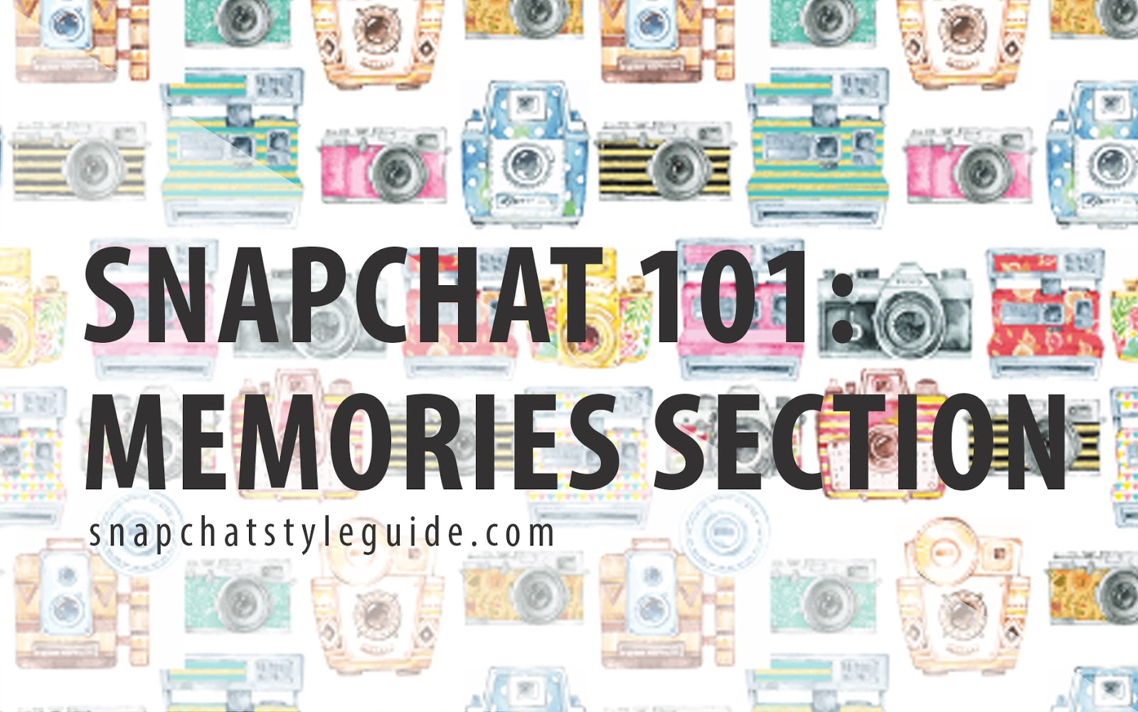 news snapchat memories update