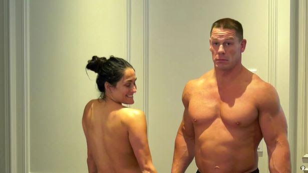 Photosvideo John Cena Joins Nikki Bella To Strip Naked -3377