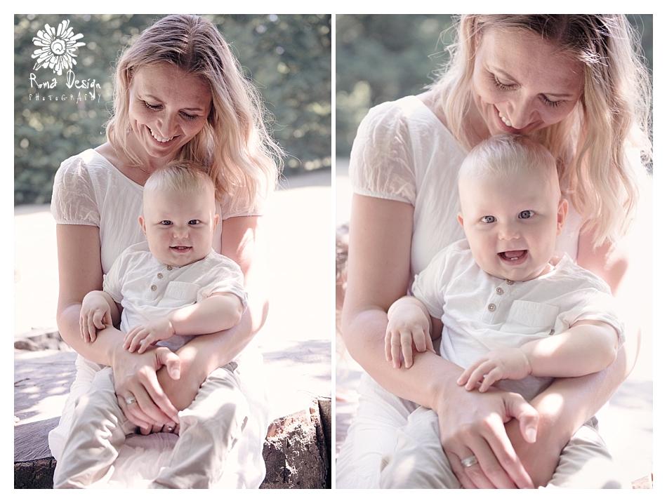 Familienfotos im Drnbergpark in Regensburg  Erster Geburtstag vom Tim