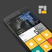 Square Home Launcher Windows style Premium 2.1.1