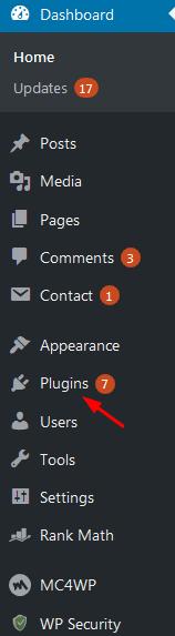 plugins settings